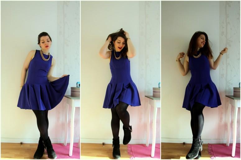 look blue