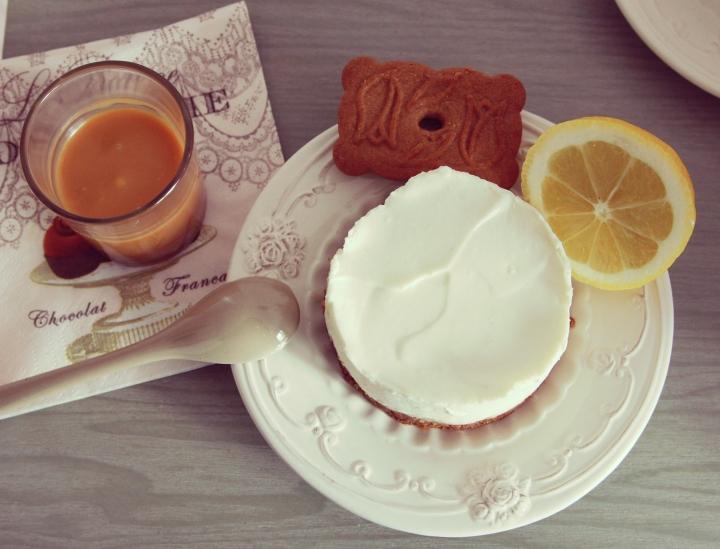 cheesecake speculoos caramel