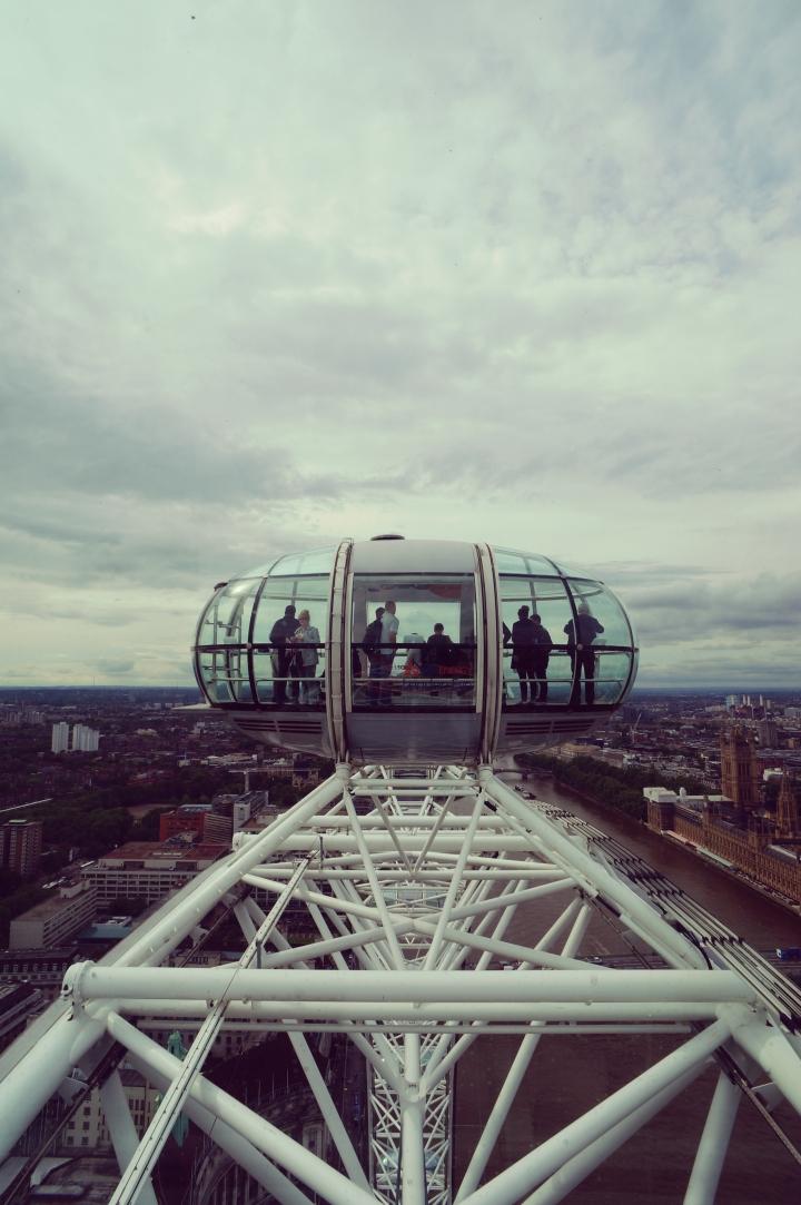Jour 2 : Londres vue du ciel et bien plus…