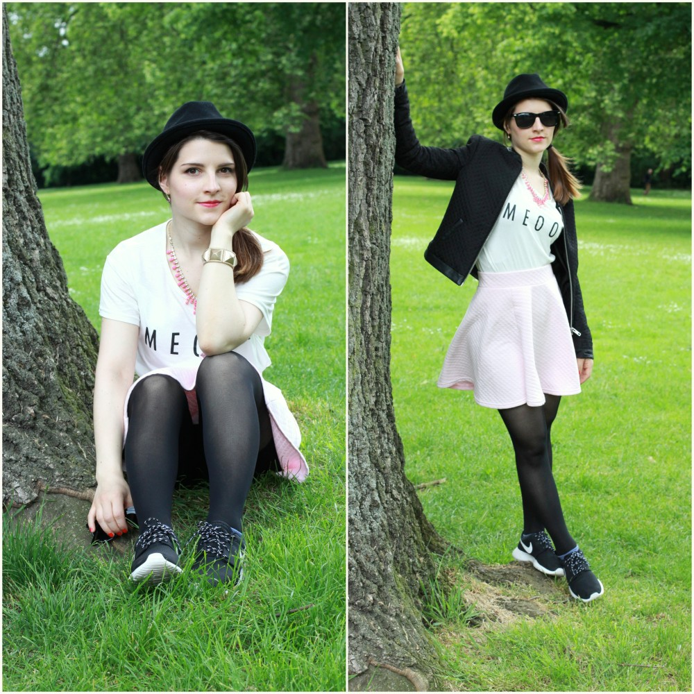 lookbook cosy and preppy in london