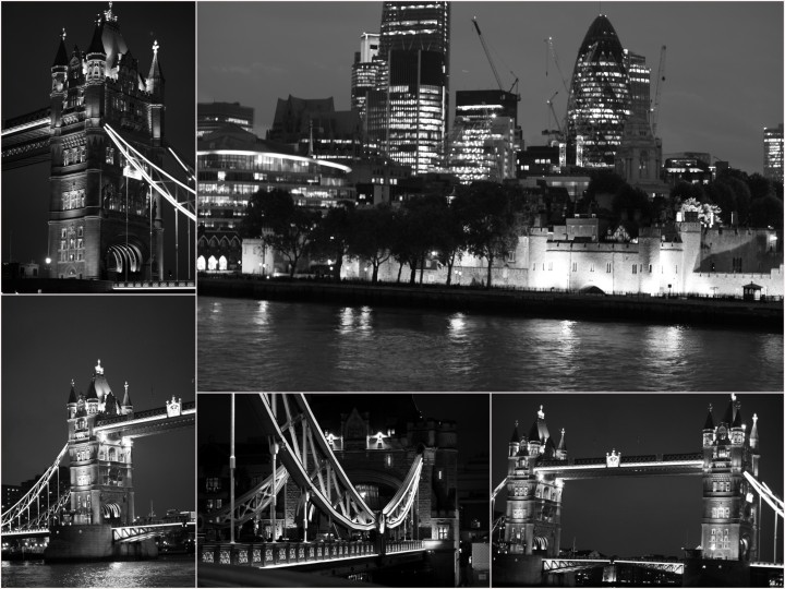 tower bridge nuit