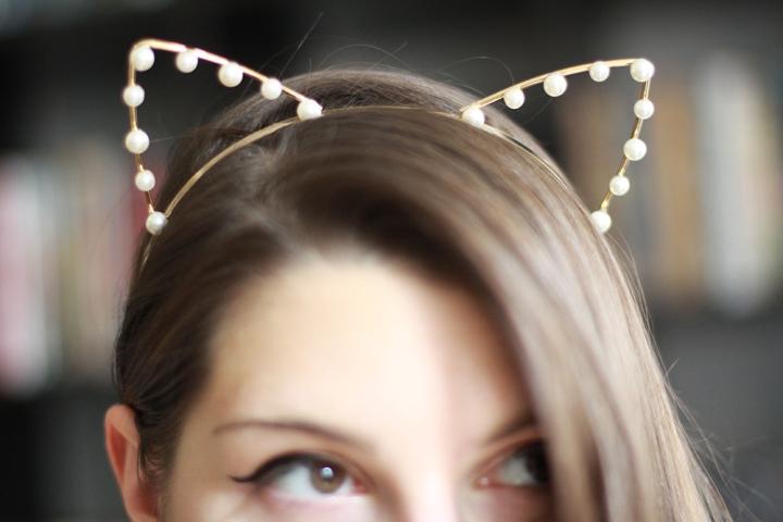 Headband cat