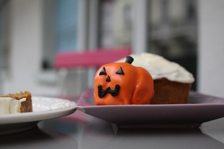 gâteau au potiron façon carrot cake