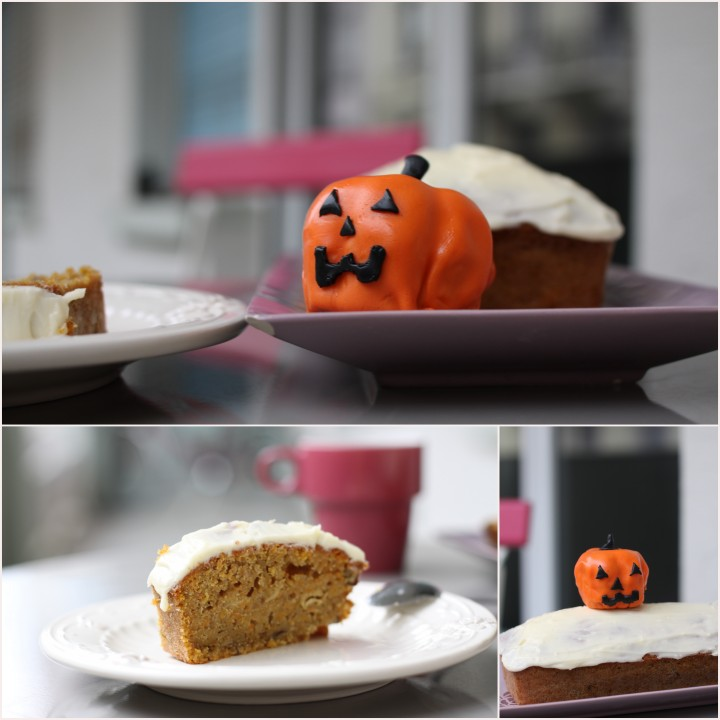 Gâteau au potiron façon carrotcake