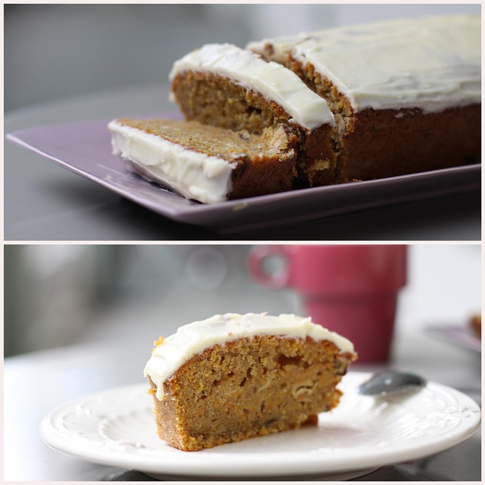 gâteau au potiron, façon carrot cake