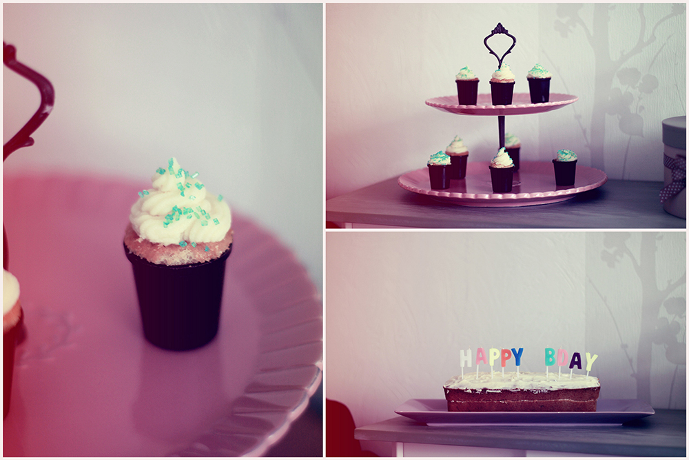 cupcakes and bday