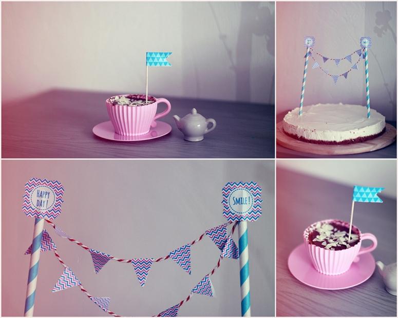 cheesecake and cupcake