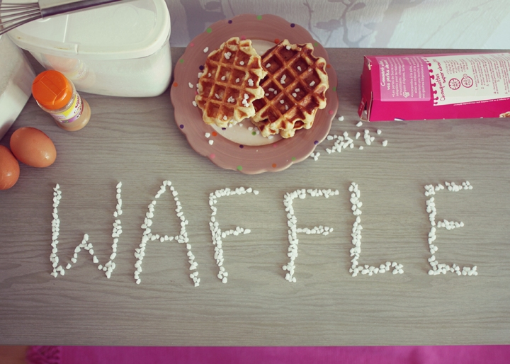All you need is love … and waffles