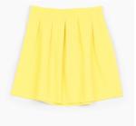 jupe jaune stradivarius