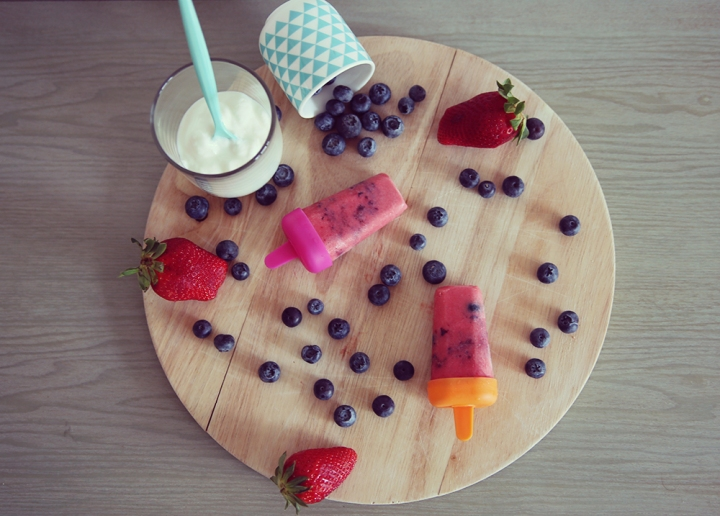 Petites glaces healthy