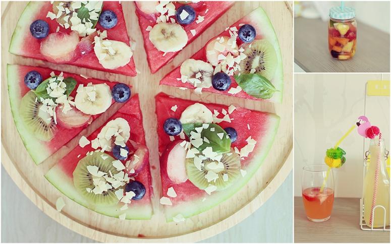 3 recettes à base de fruits