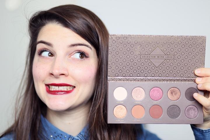Makeup automnal avec la palette CocoaBlend