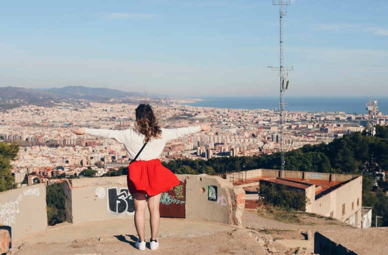 My heart is in Barcelona
