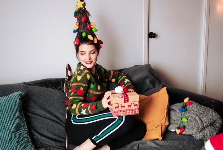 christmas tree hair 3
